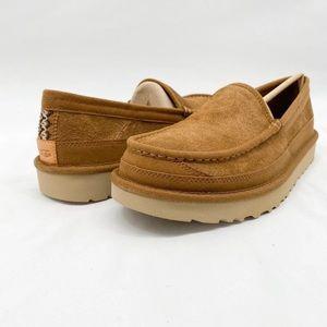 Ugg Dex chestnut men's slippers 10